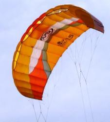 Komorový kite 7,5m PowerKite Apex